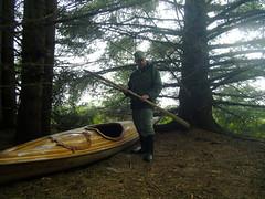 Abandoned kayak