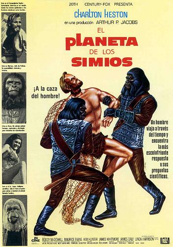 12-El planeta de los simios 1967