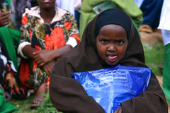 just like the big kids (LindsayStark) Tags: africa travel school portrait girl kids war child refugee muslim hijab conflict somali ethiopia schoolkids humanrights humanitarian somalia displaced refugeecamp humanitarianaid emergencyrelief postconflict waraffected conflictaffected jijiga