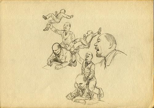 Lenin caricature