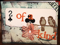Card - 2 of a kind