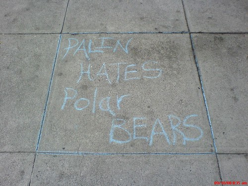 PALIN HATE POLAR BEAR