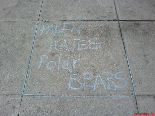 PALIN HATE POLAR BEAR