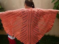 Seraphina's Batwing Shawl