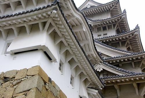 Les defenses de Himeji / The defences of Himeji