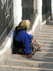 Poveri a Venezia (rogimmi) Tags: italia venezia rom nomade zingara miseria poverta poveri elemosina
