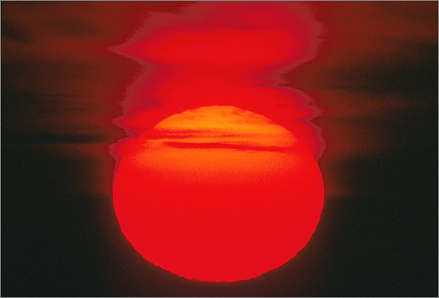 Red Sun Set / sun / set / ( sunset )