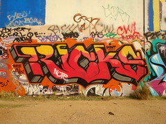 Ricks SAC LosAngeles Graffiti Art (anarchosyn) Tags: art graffiti losangeles sac ricks skateallcities