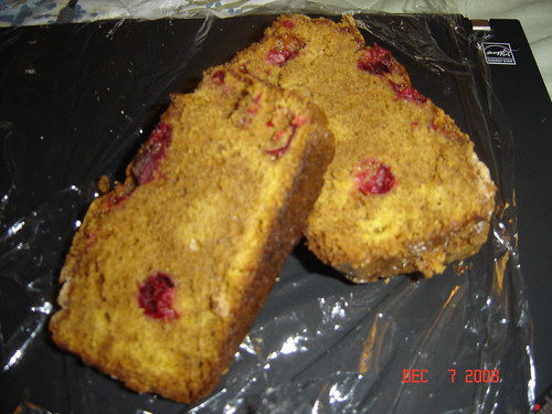 Cranberry-Pumpkin Bread