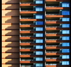 balcony view (eYe_image) Tags: abstract building architecture shadows michigan balcony detroit mywinners