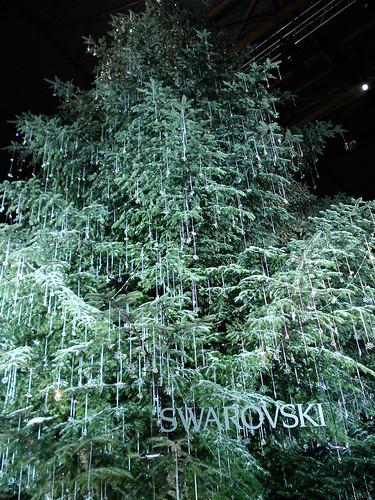 Zürich Hauptbahnhof Christmas Market Tree by Swaroski