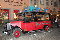Rothenburg ob der Tauber, Germany (fisherbray) Tags: auto christmas truck germany rothenburg rothenburgobdertauber tauber kthewohlfahrt fisherbray