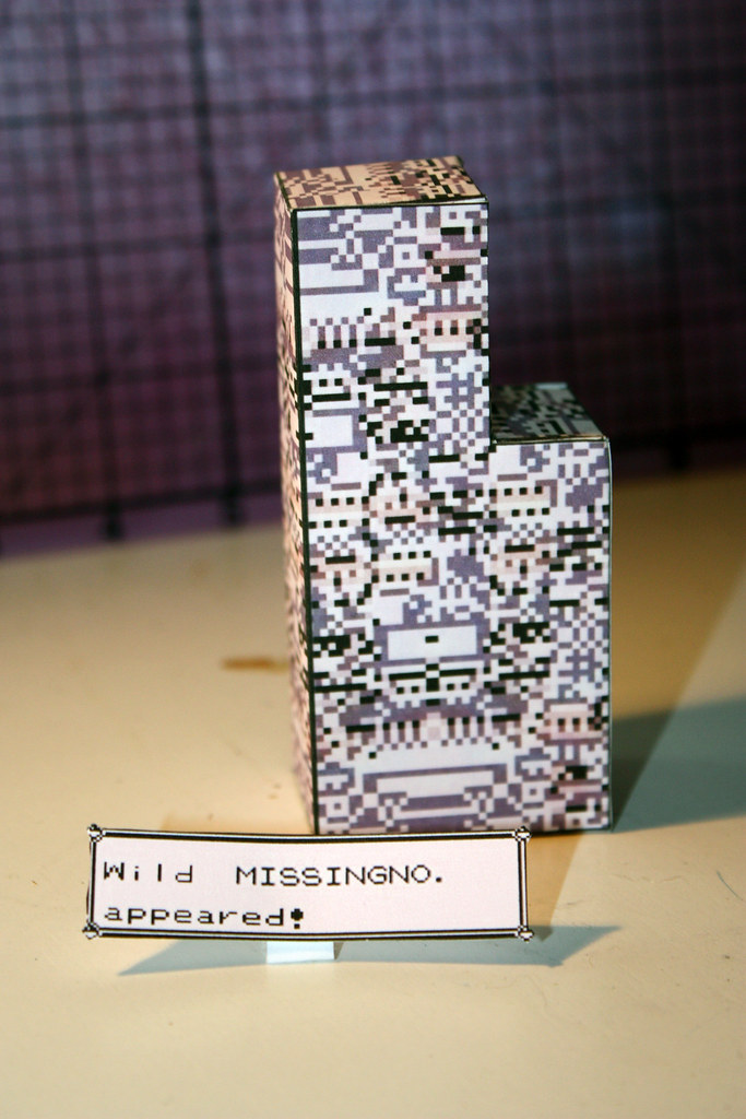 Pokemon Papercraft - MissingNo. ~ Paperkraft.net - Free Papercraft ...