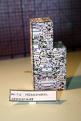 Wild MISSINGNO. appeared! (jemanard) Tags: pokemon papercraft pepakura missingno pokemonpapercraft