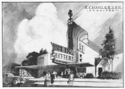 Helix Theatre, La Mesa building plan