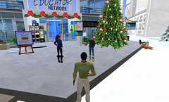 Winter Wonderland Carnival with the DEN in SL