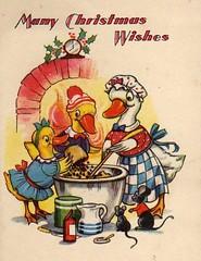 Christmas Baking (hagerstenguy) Tags: christmas winter food birds weihnachten mouse navidad baking duck wishes merry jul wonderland bakers joulu frohe
