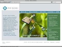 PA Semi homepage
