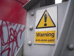 Anti-Climb Paint?