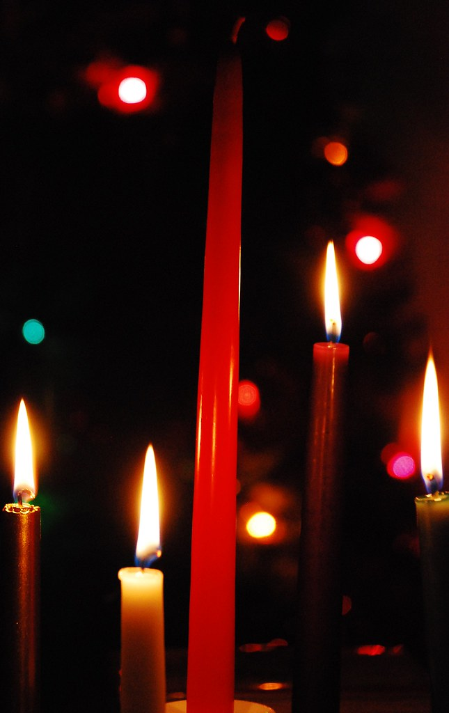 Advent Wreath Glow
