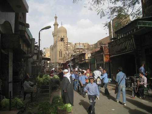 Street scene in Islamic Cairo