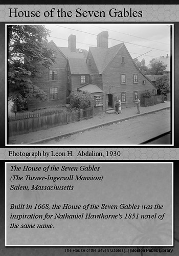 House of the Seven Gables (Trading Card Example)
