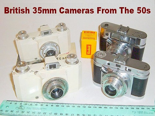 British 35mm Cameras From The 50s