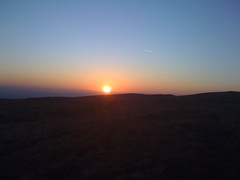 sunset from cochno hill