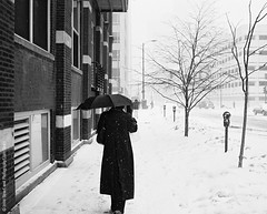 snow day (streetlevel_photography) Tags: chicago kodakbw400cn canonp canon35mmf18ltm