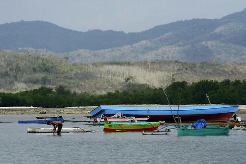 Pulao Bajo boats