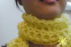 mohair pretty scarf