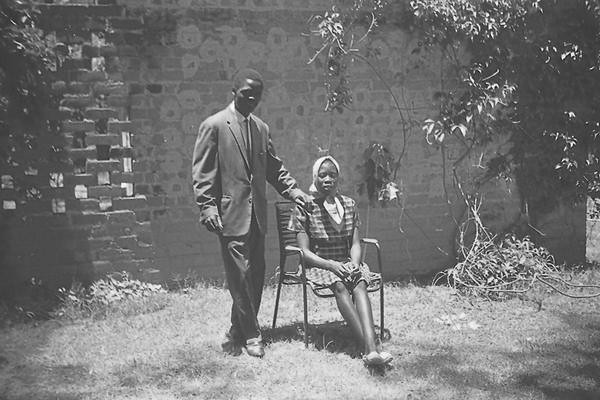 Husband and wife, Lusaka, 1965 by rustyproof