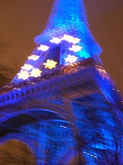 Eiffel Tower goes all EU