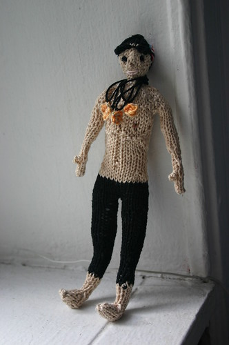 Knitted Michael Phelps (4)