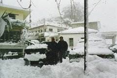 lakki in the snow