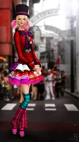 candy girl  tokyo japan   by angelah tokyo