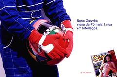 "An. Revista Sexy _ ""Piloto"" (DINOCOMM - dinocomm@gmail.com) Tags: sexy magazine naked revista helmet f1 formula1 corrida pilot interlagos nua piloto fischeramerica capecete nanagouvea"