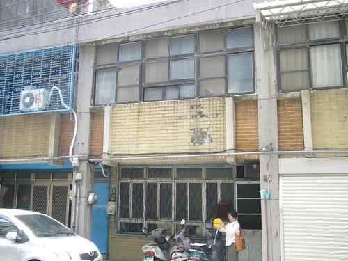 公寓外牆拉皮施工前