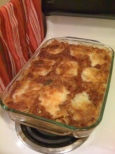 Emily's amazing lasagna