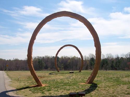 Concentric Circles Thomas Sayre Gyre Museum Park NCMA 4498