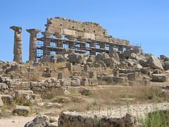 Tempio di Giunone - Temple of Juno (tabbiska) Tags: italien sea italy europa europe italia mare acropoli sicily spiaggia italie sicilia itali selinunte  sicile sizilien magnagrecia castelvetrano italija  aniodil