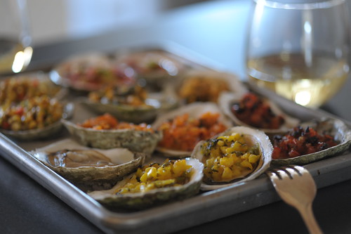 Grilled Oysters by Cookthink