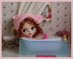 Bythe takes a bath
