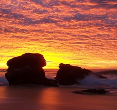 I was just there to witness it (pominoz) Tags: sea beach sunrise newcastle rocks redhead nsw hero winner thumbsup flickrmeet ultra visualart bigmomma anawesomeshot diamondclassphotographer flickrdiamond goldstaraward thechallengefactory thumbsupwrestling tuw024 herowinner