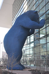 Denver's Big Blue Bear