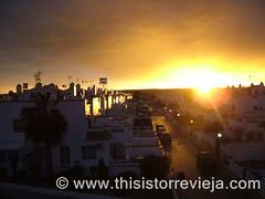 Sunset / puesta de sol (This Is Torrevieja) Tags: iris sunset espaa costa sol de rainbow spain blanca puesta arco torrevieja