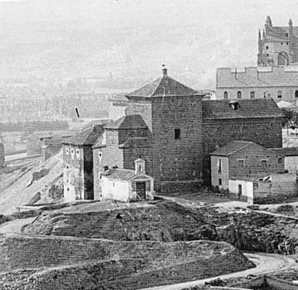 Ermita del Calvario de Toledo hacia 1900. Foto J. Lacoste