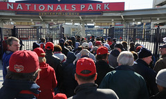 Natsfest crowd at Nationals Park