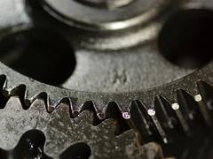 Cogs 4 (lovestruck.) Tags: black macro metal closeup dark industrial engine beta oil cogs narrowboat johndeer challengeyouwinner pentaxk10d jd3