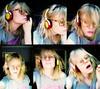 fever ray (Sexy Swedish Babe) Tags: selfportrait me collage headphones nokia6630 wearethesuperlativeconspiracy wesc dailyphoto2009